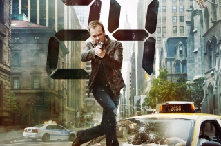 Jack Bauer Kiefer Sutherland In 24 Tv Series Background for Android, iPhone and iPad