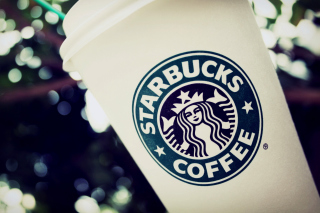 Starbucks Emblem Background for Android, iPhone and iPad