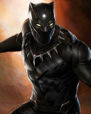 Kostenloses Black Panther 2016 Movie Wallpaper für Nokia Asha 308