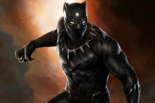 Black Panther 2016 Movie sfondi gratuiti per 1200x1024