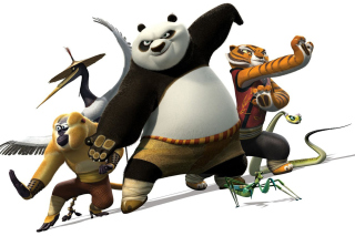 Kung Fu Panda 2 Background for Android, iPhone and iPad