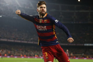 Gerard Pique Barcelona FC Wallpaper for Samsung Galaxy S6 Active