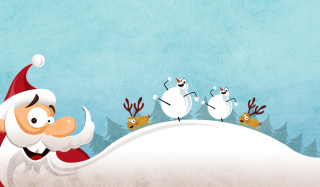 Merry Christmas & Happy Holidays Background for Android, iPhone and iPad