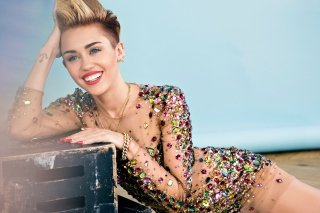Miley Cyrus 2014 Background for Android, iPhone and iPad