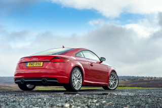 Audi TT Coupe 2015 Wallpaper for Android, iPhone and iPad