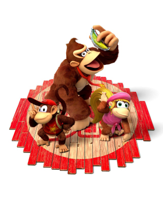 Donkey Kong Country Tropical Freeze Wallpaper for Nokia C1-01