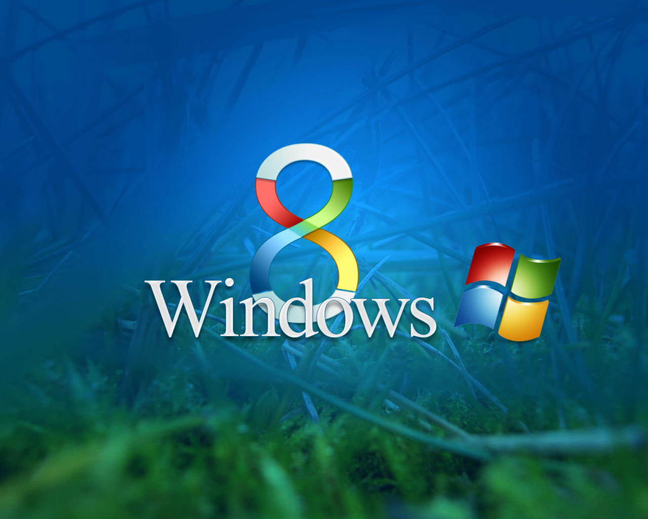 Das Windows 8 Wallpaper 1280x1024