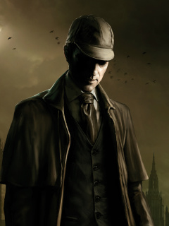 Screenshot №1 pro téma The Testament of Sherlock Holmes 240x320