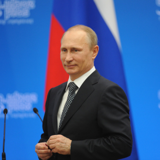 Russian politic Putin sfondi gratuiti per iPad Air