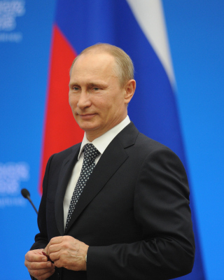 Russian politic Putin sfondi gratuiti per iPhone 4S