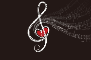 Musical Notes Wallpaper for Android, iPhone and iPad