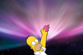 Homer Apple - Fondos de pantalla gratis