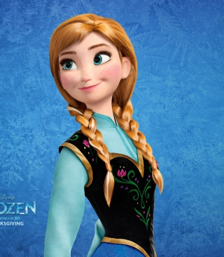 Free Princess Anna Frozen Picture for Nokia C2-03
