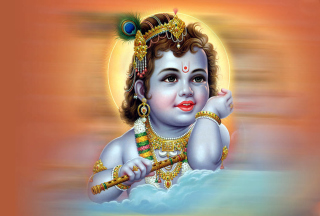 Lord Krishna Background for Android, iPhone and iPad
