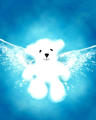 Angel Bear Background for Nokia C1-01