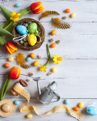 Easter Still Life Wallpaper for Nokia C-5 5MP