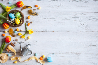 Easter Still Life Background for 1024x768