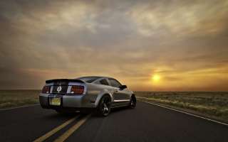 Ford Mustang Shelby GT500 Wallpaper for Android, iPhone and iPad