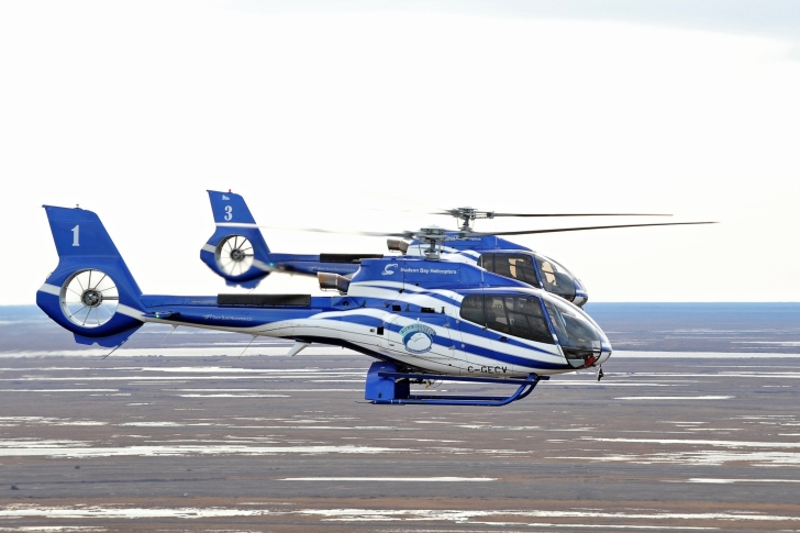 Hudson Bay Helicopters wallpaper