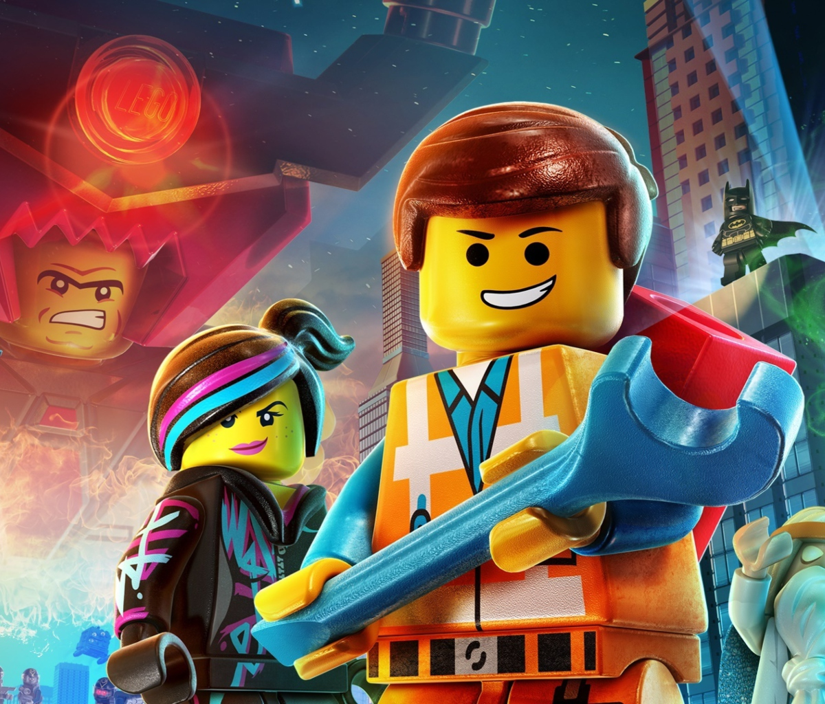 Screenshot №1 pro téma Lego Movie 2014 1200x1024