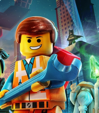 Free Lego Movie 2014 Picture for Nokia Asha 305