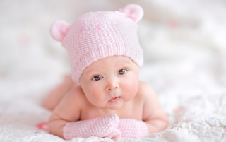 Newborn Girl Picture for Android, iPhone and iPad