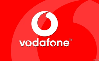 Vodafone Logo Background for Android, iPhone and iPad
