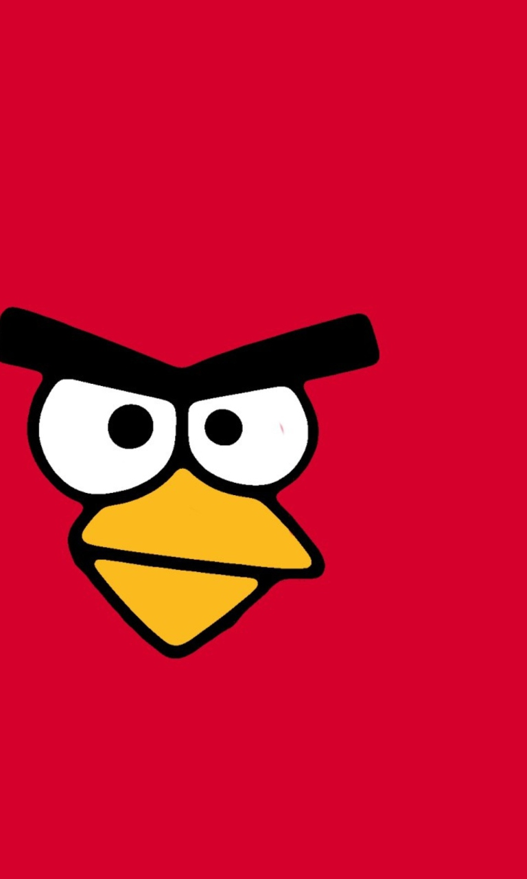 Sfondi Red Angry Bird 768x1280