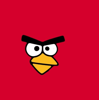 Обои Red Angry Bird для телефона и на рабочий стол iPad mini 2