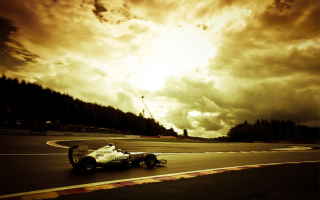 Mercedes GP F1 Background for Android, iPhone and iPad
