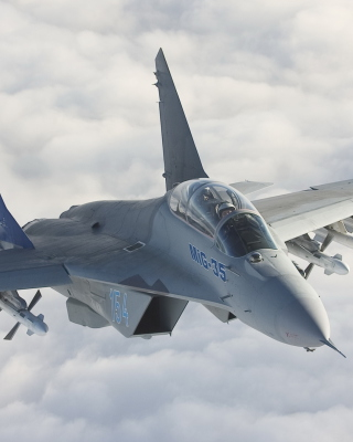 MiG-35 Wallpaper for 176x220