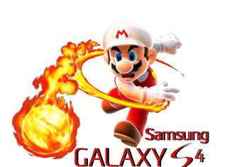 Mario Fire Game Background for Samsung Galaxy Tab 7.7 LTE