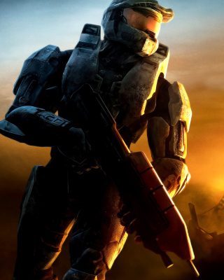 Halo 3 Wallpaper for Nokia C2-02