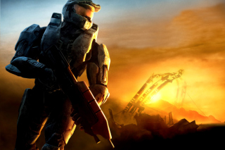 Halo 3 Background for LG Optimus M