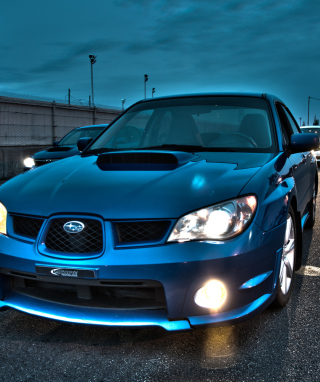 Subaru Impreza WRX Wallpaper for HTC Titan