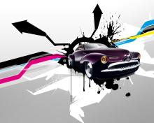 Abstract Car   Fondos Gratis Para 220x176 De VividScreen