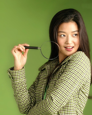 Jun Ji hyun Picture for HTC Titan