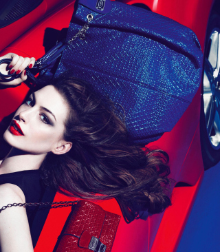 Anne Hathaway For Tods Background for HTC Titan