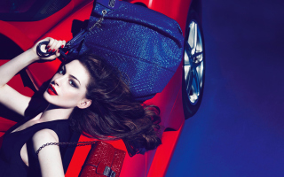 Anne Hathaway For Tods - Obrázkek zdarma pro Android 480x800