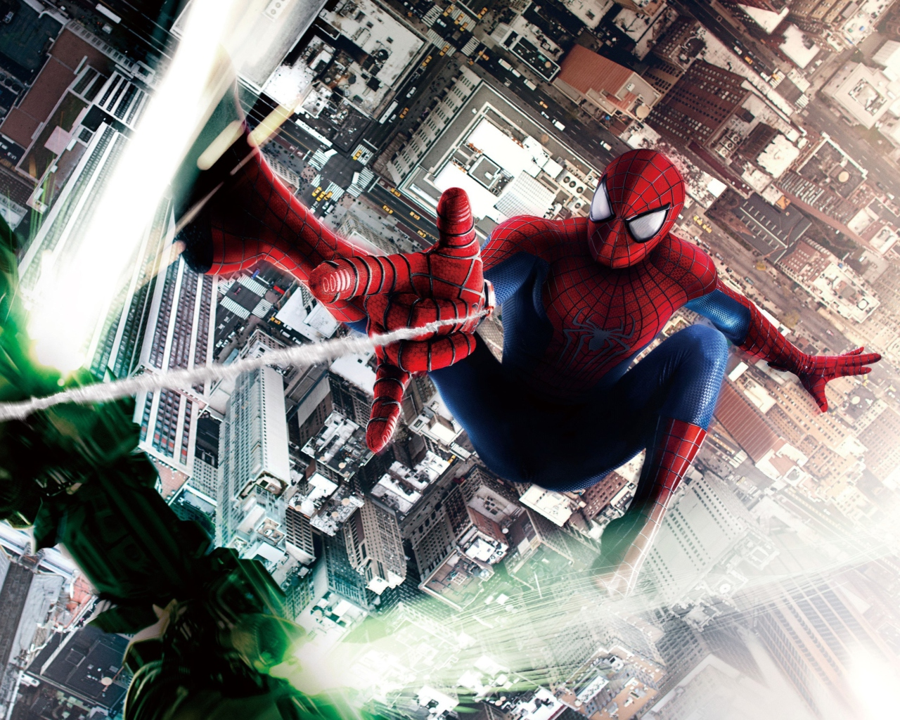 Screenshot №1 pro téma Amazing Spider Man 2 1280x1024