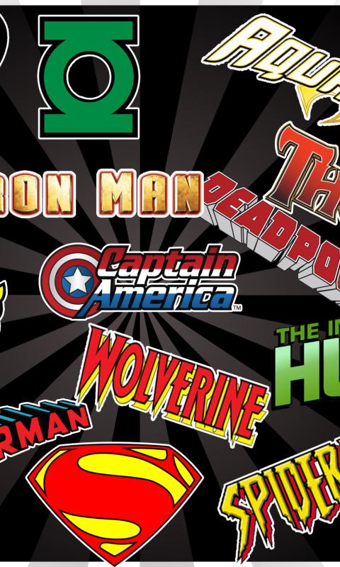 Superhero Logos per Nokia Lumia 800