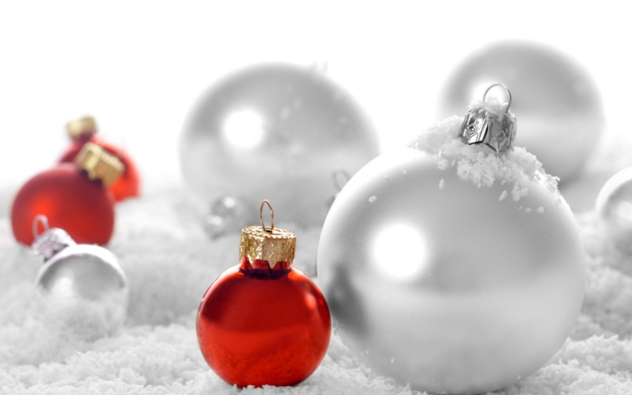 Christmas Decorations wallpaper 1280x800