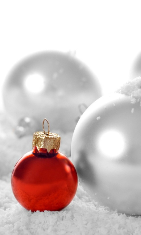 Christmas Decorations wallpaper 480x800