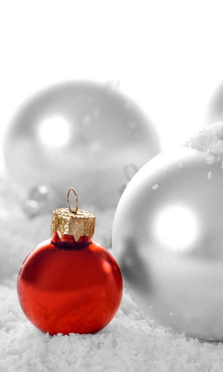 Christmas Decorations wallpaper 768x1280