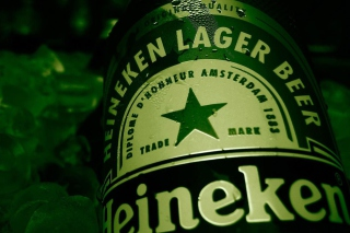 Heineken Lager Beer Background for Android, iPhone and iPad