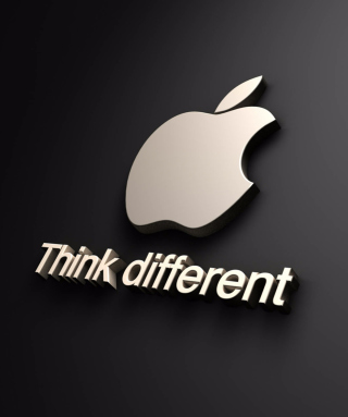 Free 3D Apple Wallpaper Picture for Nokia C5-06