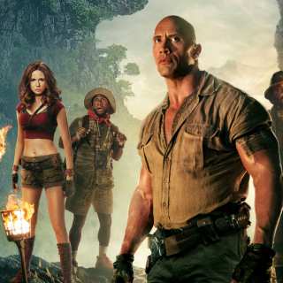 Jumanji Welcome to the Jungle Poster sfondi gratuiti per iPad 3