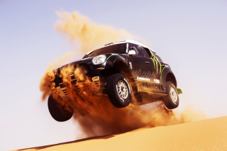 Mini Cooper Countryman Dakar Rally Background for Desktop Netbook 1024x600