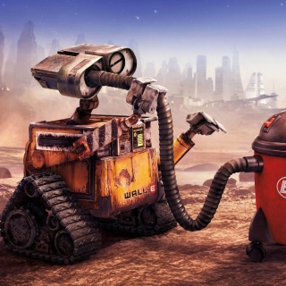 Wall E HD Background for LG KP105