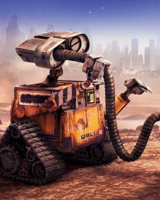 Free Wall E HD Picture for Nokia Asha 503